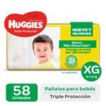 Pañal Triple Protecc Huggies Paq 58 Uni
