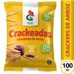 Gall.Arroz Crackeadas Gallo Snack Paq 100 Grm