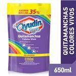 Quitamanchas Colores Vivos Ayudin Doy 650 Ml