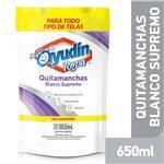 Quitamanchas Liqui Blanco Supremo Ayudin Doy 650 Ml