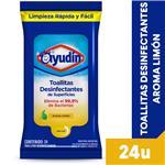 Paños Desinfectant Limon Ayudin Pou 24 Uni