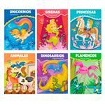 Libro Aventuras P/ Colorear