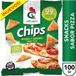 Chips Sabor Pizza Gallo Snack Paq 100 Grm