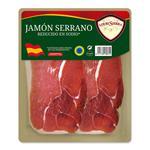 Jamón Serrano Reducido En Sa LOURISIERRA Paq 120 Grm