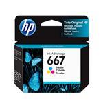 Cartucho HP 667 Color . . .