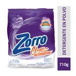 Jabón En Polvo Zorro Clearsist.Antimanchas Paq 710 Grm