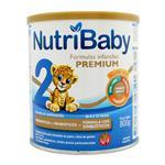 Leche E/Polvo 2 Premium NUTRIBABY Lat 800 Grm
