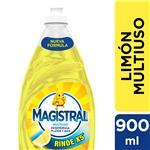 Lavavajillas Multiuso Limón Magistral Bot 900 Ml