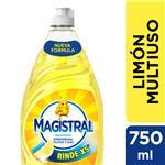 Lavavajillas Multiuso Limón Magistral Bot 700 Ml