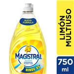 Detergente Magistral Multiuso Limón 750 Ml