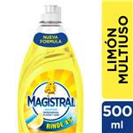 Lavavajillas Multiuso Limón Magistral Bot 500 Ml