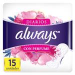 Protectores Diario Con Perfume Always Paq 15 Uni