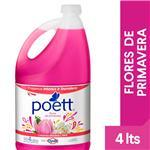 Limpiador Liquido Primavera Poett Bid 4 Ltr