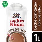 Leche Chocolatada Tres Niñas Ttb 1 Ltr