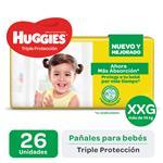 Pañal Triple Protecc Huggies Paq 26 Uni