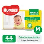 Pañal Triple Protecc Huggies Paq 44 Uni