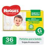 Pañal Triple Protecc Huggies Paq 36 Uni