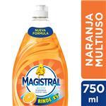 Detergente Magistral Multiuso Naranja 750 Ml