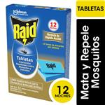 Tabletas Insecticida Mo Raid Cja 12 Uni