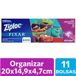 Bolsas Herméticas ZIPLOC Disney Pixar Para Organizar 11un