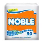 Servilletas 30 X 30 Cm Noble Paq 50 Uni