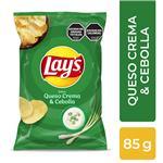 Papas Fritas Queso Y Ceboll Lays Paq 85 Grm