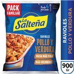 Raviol Pollo Y Verdura LA SALTEÑA X 900 Gr