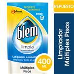 Limpiador Múltiples Pisos Blem Clásico Repuesto Económico 400ml