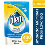 Limpiador Múltiples Pisos Blem Lavanda Repuesto Económico 400ml
