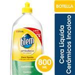 Cera Líquida Pisos Cerámicos BLEM Incoloro Botella 800ml