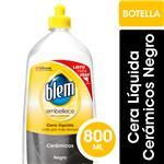Cera Líquida Pisos Cerámicos BLEM Negro Botella 800ml