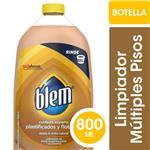 Limpiador De Pisos Plastificados Y Flotantes Blem Aloe & Pepino Original Botella 800ml