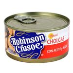 Cholgas Con Aceite Y A Robinson Cr Lat 190 Grm