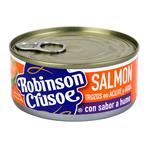 Salmon Ahumado Trozos Robinson Cr Lat 140 Grm