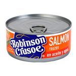 Salmon Trozos En Acei Robinson Cr Lat 140 Grm