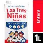 Leche Ent.Lv Uat Extra Defe Tres Niñas Ttb 1 Ltr