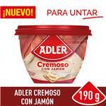 Queso Untable Jamón Adler Pot 190 Grm