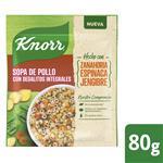 Sopa De Pollo KNORR Con Dedalitos Integrales 80 G