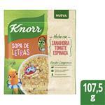 Sopa De Vegetales KNORR Con Letras 10 X 107.5 G