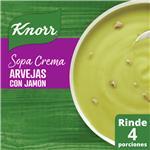 Sopa Crema Arvejas C/Jamo Knorr Sob 64 Grm