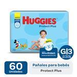 Pañal Huggies Protect Plus G X60