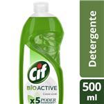 Detergente Cif Limón Verde 500 Ml