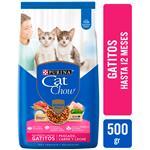 Alim. Gatos Gatitos,Pescad Cat Chow Bsa 500 Grm
