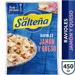 Raviol Jamon Y Queso LA SALTEÑA X 450 Gr