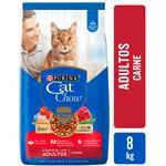 Alim. Gatos Adultos,Carne Cat Chow Bsa 8 Kgm