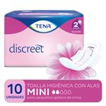 Toalla Higiénica Tena Discreet Mini X10 Unidades