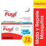 Tabletas Insecticidas FUYI Contra Mosquitos Respuesto 72uni