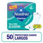 Protector Diario Nosotras Largos X50