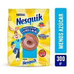 Cacao Menos Azucar E Nesquik Paq 300 Grm