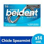 Chicles Spearmint X14 Beldent Est 26.6 Grm